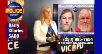 Harry Charles SADD Charge with Sex Crimes in Victoria, BC – Police looking for more victims.
